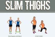 Slim thighs!