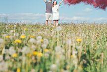 photography wedding smokebomb