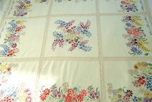 vintage linens / by Mandy Morrow