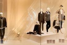 KONEN Contemporary Herbst/Winter 2015 / Contemporary: Zeitgemäß die Aspekte Kunst & Mode inszenieren und verbinden - die kunstvollen KONEN Schaufenster im Herbst/Winter 2015