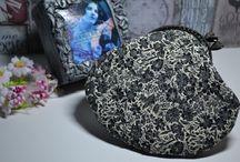 Textile. Bags, handbags, cosmetic bags