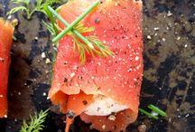 salmon caviar appetizer