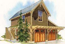 Tiny garage house