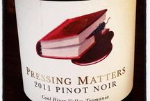 Pressing Matters Wines and Reviews / Riesling and Pinot Noir from Pressing Matters and reviews.