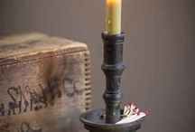VElas and Candle...