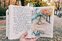 Sketchbook journalling