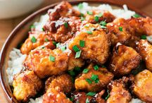 Mixed chicken recipes