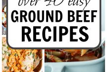 Where's The Beef? / Recipes made with beef!