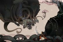 ANDOLEDIUS / Artist - renders digitally-created images borrowing mythic subjects from popular CHINESE and ASIAN legends, wisely mixing them up with anachronistic elements