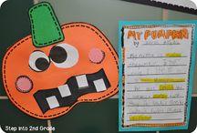 Second Grade Pumpkin Theme / by Anne Merkel
