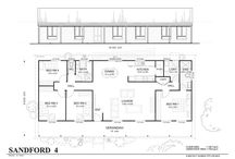 4 bedrooms house floor plans