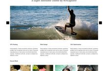 Wordpress Free Theme / by Luigina Foggetti