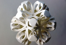 Paper: Origami-Kirigami-Pop Up-Folding-Etc (Paper Romance) / by Paula