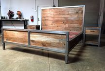 Reclaimed Wood Beds