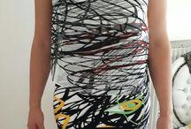 robe multicolore habillée