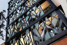 fachadas em vidro