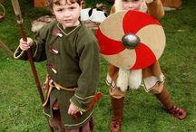 vikings, clothes,dress,child