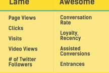 Analytics / Google Analytics and Marketing Metrics
