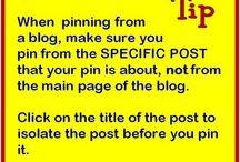 Pinning tips