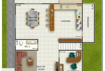 Sala,Escritório,Cozinha e Sala de Jantar,Corredor,Área de serviço.