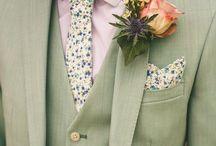 Rose Buttonholes / Wedding buttonholes