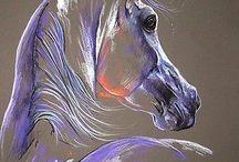 malba, kresba zvířat