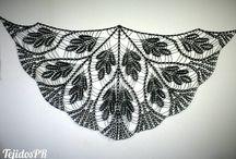 Estolas / Shawls (TejidosPR)