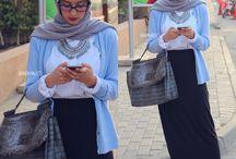 Hijabi Fashion / My personal hijabi style ideas