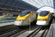 Eurostar, travelling to London and Paris