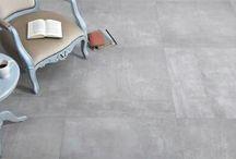 VLOERTEGELS | Betonlook / Wil je een moderne betontegel die wel te onderhouden is? Dan zijn deze keramische betonklootegels het perfecte alternatief