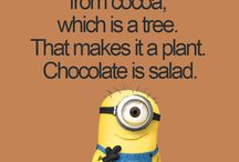 Minion quotes to love / Relatable stuff