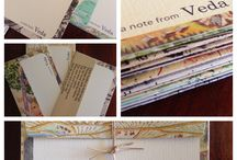 Bespoke Stationery / Personalised stationery. These sets were specially made for special clients.