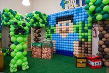 Minecraft fiesta alejo