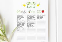 Free Printables for Moms