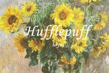 hogwarts | loyal / Those patient Hufflepuffs are true, And unafraid of toil | aes board for the badger children & hufflepuffs