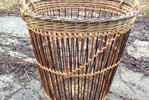 Basketry - Our work / Runde kurver, rammeverkskurver, ovale kurver