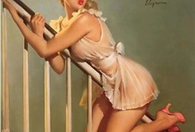 Artist: Gil Elvgren / by Jim Vanderpool
