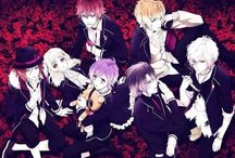 Diabolik lovers / Has no clear plot but I have a crush in most of the guy in this anime.