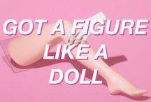 Doll aesthetic / Dolls , Melanie Martinez, Marina and the diamonds, crybaby