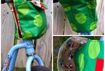 Nähen/Fahrradtasche