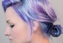 hair in pastels