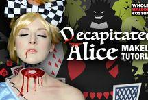 DecapitTed costume makeup / Halooween