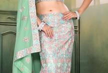Lengha Sarees / Buy all latest  Lengha Sarees at www.chennaistore.com