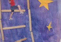 1st grade art projects