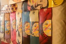 Warhol decks / Alien workshop