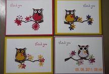 Hibou Owl stampin up