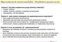 chemia materiałów
