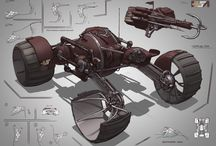 Car & Vehicle design sketches