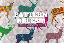 PATTERN STYLE / There are people who dare to buy clothes and accessories produced by colorful patterns.  There are others who choose to upholster the furniture in their houses or even their cars upholstery style.  And of course there are artists, who create an amazing art by using this great technique.   Sooo..We also want to be a part of this lovely trend by adding some color to your presentation stories.   From NOW on you can also make a pattern presentation & emaze your audience. Do not be afraid to #dare!