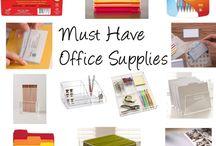 Office Supply Addiction and Organization